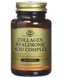Solgar Solgar Collagen Hyaluronic Acid Complex 30 Tablets