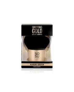 SoSu Dripping Gold Large Kabuki Brush