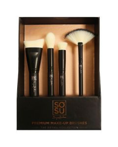 SoSu by SJ Premium Makeup Brushes - The Detail Collection