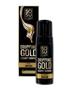 SoSu Dripping Gold Tan Mousse Dark 150ml