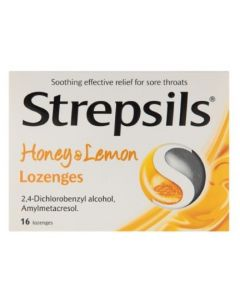 Strepsils Honey & Lemon Lozenges 16