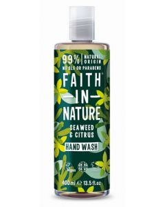 Faith in Nature Handwash 400ml-Seaweed & Citrus