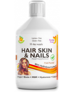 Swedish Nutra Hair Skin and Nails