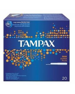 Tampax Super Plus Tampons 20 Pack
