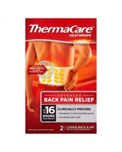 ThermaCare Heat Wrap Pain Relief - Lower Back & Hip