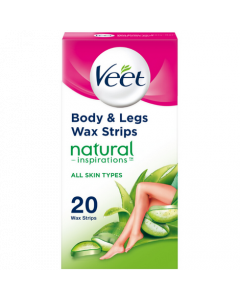 Veet Natural Inspirations Wax Strips (20s)