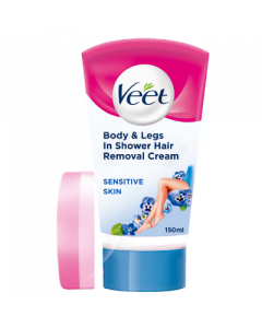 Veet  In Shower Hair Removal Cream - Sensitive 150ml Front