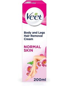 Veet Hair Removal Cream - Normal 200ml Front