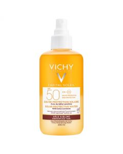 Vichy Capital Soleil Tan Enhance Solar Protective Water SPF 50 200ml