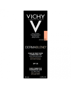 Vichy Dermablend Fluid Corrective Foundation Bronze 55 30ml