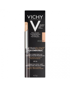 Vichy Dermablend SOS Cover Stick 16HR (55) Bronze 4.5g