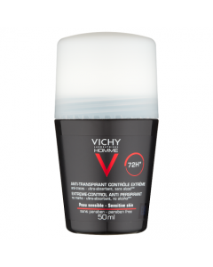 Vichy Homme Deodorant Extreme Anti Perspirant Roll On 50ml