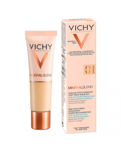 Vichy Mineralblend Fluid Foundation 01 Clay 30ml