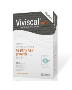 Viviscal Man hair growth tablets- 180pck