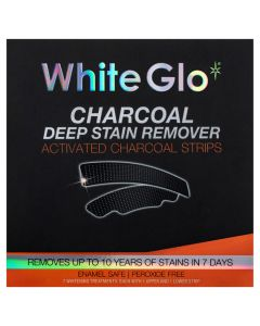 White Glo Charcoal Deep Stain Remover Strips 7 Pack