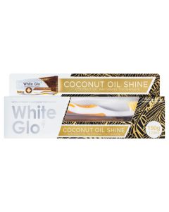 White Glo Coconut Oil Shine Toothpaste 120ml