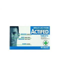 Actifed Tablets (12)