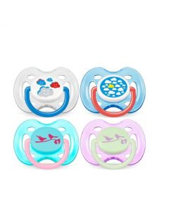 Avent Soother Fashion Animal 0-6months (2 pk)