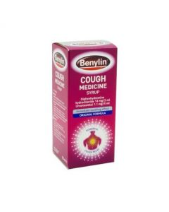Benylin Cough Medicine Original Formula 125ml