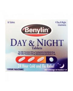 Benylin Day & Night - 16 Tablets