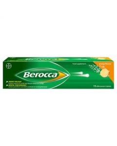 Berocca Performance Effervescent Tablets 15 -Orange