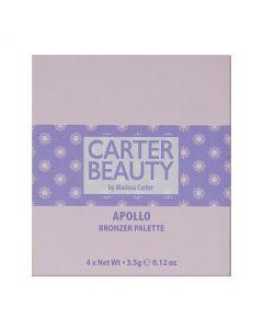 Carter Beauty Apollo Mini Bronzer Palette