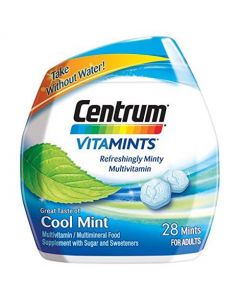 Centrum VitaMints Cool Mint Tablets 28s