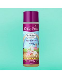 Childs Farm Blackberry And Apple Body Wash 250ml