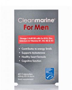Clean Marine Krill Oil for men - 60s