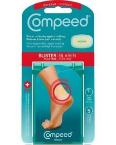 Compeed Blister Plasters 20 Extra Cushioning Medium X 5