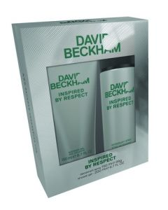 David Beckham Respect Gift Set 150ml Deodorant Spray + 200ml Shower Gel