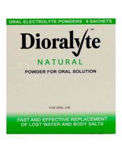Dioralyte Natural - 6 Sachets