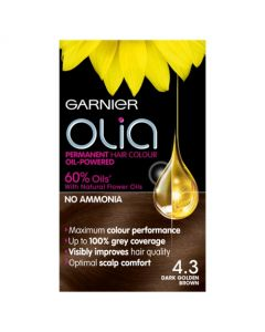 Garnier Olia Hair Colour 4.3 Dark Golden Brown