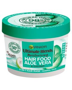 Garnier Ultimate Blends Hair Food Aloe Vera 3-in-1 Normal Hair Mask Treatment 390ml