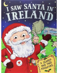 I Saw Santa in Ireland Book