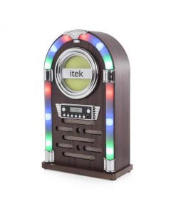 Itek Bluetooth Jukebox With CD Player & FM Radio Medium