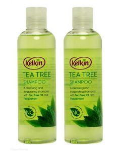 Kelkin Tea Tree Shampoo 250ml Twin Pack