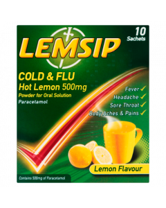 Lemsip Original Cold and Flu- 10