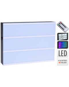 Lightbox with Remote Control