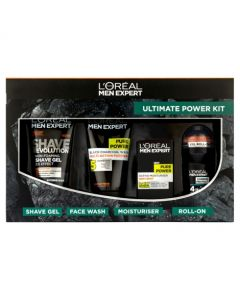 L'Oreal Paris  Men Expert Ultimate Power Charcoal 4 Piece Gift Set For Him
