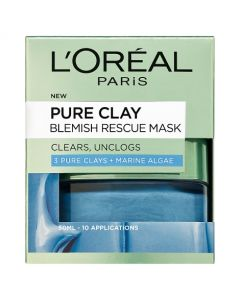 L'Oreal Paris 3 Pure Clays and Marine Algae Blemish Rescue Mask 50 ml