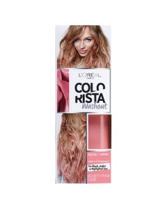 L'Oreal Paris Colorista Pastel 1 Week Dirty Pink Hair