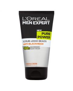 Loreal Paris Men Expert Pure Power Scrub 150ml