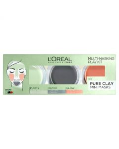 L'Oreal Paris Pure Clay Mask Multi-Masking Kit