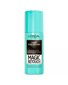 Magic Retouch Dark Iced Brown Root Touch Up 75ml