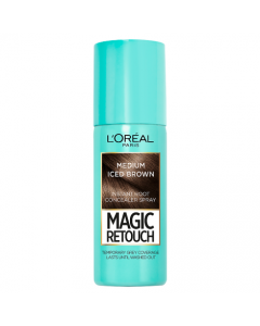Magic Retouch Medium Iced Brown Root Touch Up 75ml