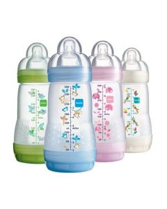 MAM Anti-Colic Baby Bottles 260ml 3pk