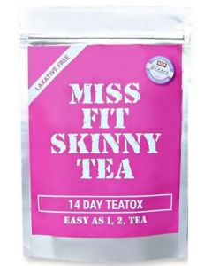 Miss Fit Skinny Tea 14 Day Teatox - Infuser Sold Separately