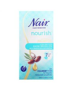 Nair Bikini Brush On Hair Removal Cream 60ml