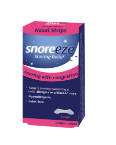 Snoreeze Nasal Strips Large 10's